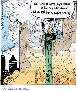 Comic Strip John Deering  Strange Brew 2011-10-05 defense
