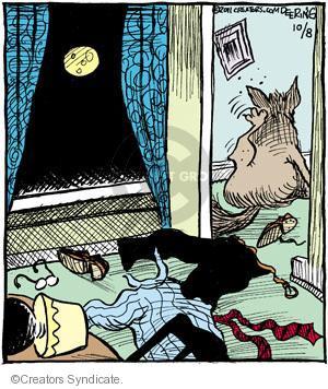 Comic Strip John Deering  Strange Brew 2011-10-08 effect