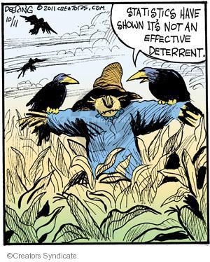 Comic Strip John Deering  Strange Brew 2011-10-11 statistic