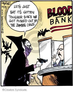 Comic Strip John Deering  Strange Brew 2011-10-13 zombie movie
