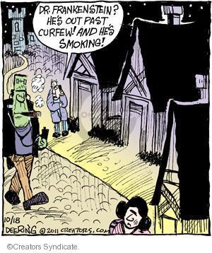 Cartoonist John Deering  Strange Brew 2011-10-18 past