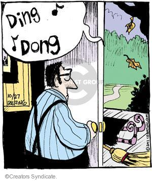 Comic Strip John Deering  Strange Brew 2011-10-27 treat