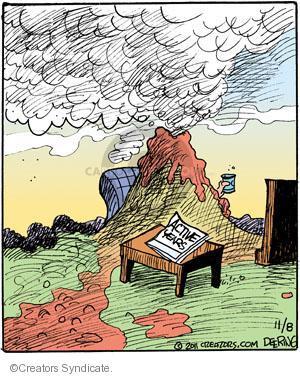 Cartoonist John Deering  Strange Brew 2011-11-08 television cartoon