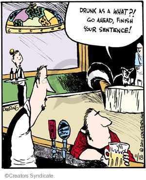 Comic Strip John Deering  Strange Brew 2011-11-18 your