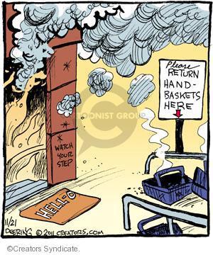 Comic Strip John Deering  Strange Brew 2011-11-21 your