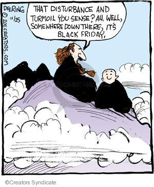 Cartoonist John Deering  Strange Brew 2011-11-25 sense
