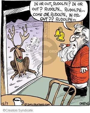 Comic Strip John Deering  Strange Brew 2011-12-07 outdoors