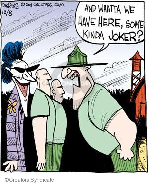Comic Strip John Deering  Strange Brew 2011-12-08 character