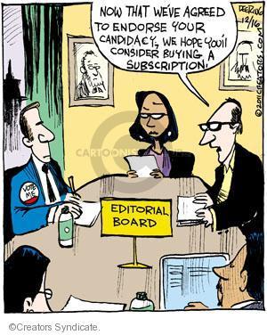 Comic Strip John Deering  Strange Brew 2011-12-16 your