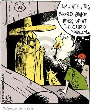 Cartoonist John Deering  Strange Brew 2011-12-19 past