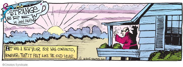 Comic Strip John Deering  Strange Brew 2012-01-01 Bob