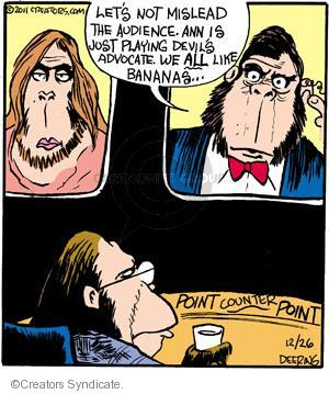 Comic Strip John Deering  Strange Brew 2011-12-26 debate