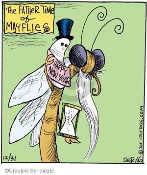 Comic Strip John Deering  Strange Brew 2011-12-31 symbol