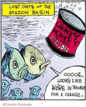 Comic Strip John Deering  Strange Brew 2012-01-03 fish