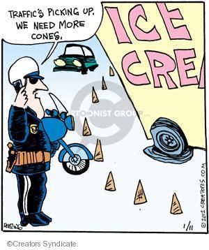 Cartoonist John Deering  Strange Brew 2012-01-11 highway