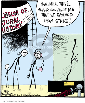 Comic Strip John Deering  Strange Brew 2012-01-16 natural history