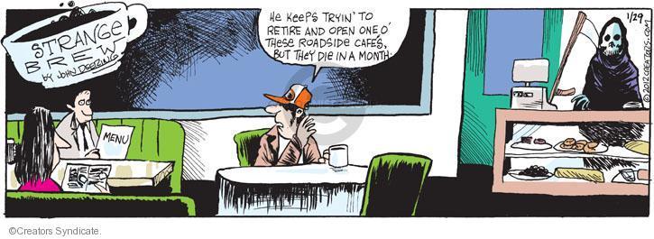Comic Strip John Deering  Strange Brew 2012-01-29 month