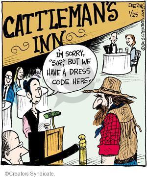 Comic Strip John Deering  Strange Brew 2012-01-25 clothing