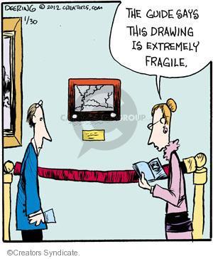 Comic Strip John Deering  Strange Brew 2012-01-30 fragile