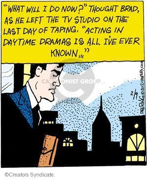 Cartoonist John Deering  Strange Brew 2012-02-09 television cartoon