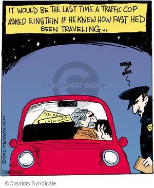 Comic Strip John Deering  Strange Brew 2012-02-11 physics