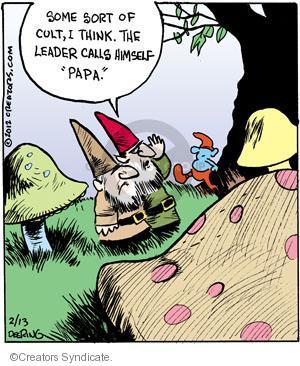 Cartoonist John Deering  Strange Brew 2012-02-13 television cartoon