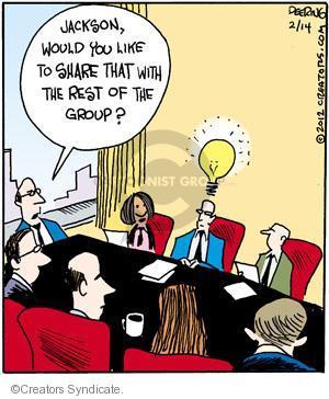 Cartoonist John Deering  Strange Brew 2012-02-14 inspiration