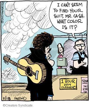 Comic Strip John Deering  Strange Brew 2012-02-18 black
