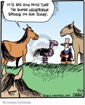 Comic Strip John Deering  Strange Brew 2012-02-23 fake