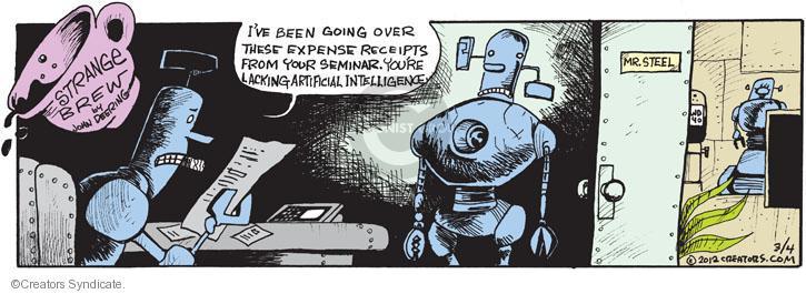 Comic Strip John Deering  Strange Brew 2012-03-04 your