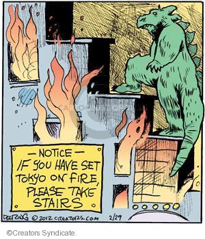 Comic Strip John Deering  Strange Brew 2012-02-29 science fiction