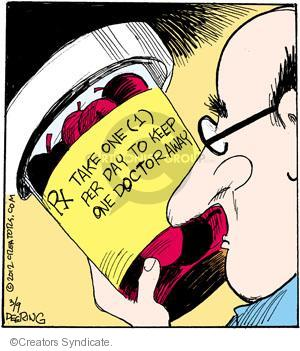 Comic Strip John Deering  Strange Brew 2012-03-09 medication