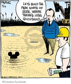 Cartoonist John Deering  Strange Brew 2012-03-14 Disney