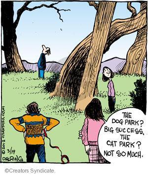 Comic Strip John Deering  Strange Brew 2012-03-19 big cat