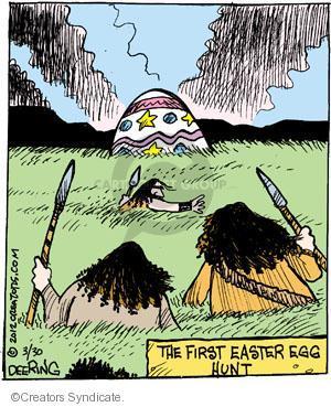 Comic Strip John Deering  Strange Brew 2012-03-30 Easter egg