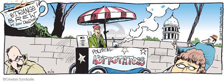 Comic Strip John Deering  Strange Brew 2012-04-15 topic