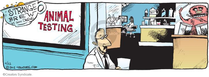 Comic Strip John Deering  Strange Brew 2012-04-22 science