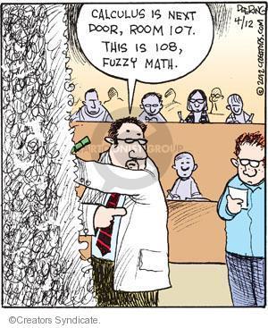 Cartoonist John Deering  Strange Brew 2012-04-12 student
