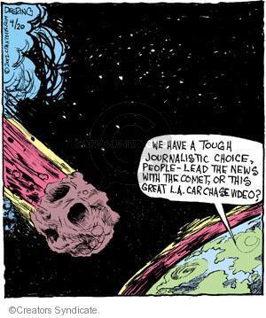 Comic Strip John Deering  Strange Brew 2012-04-20 chase