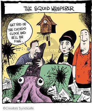 Comic Strip John Deering  Strange Brew 2012-04-26 defense