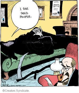 Comic Strip John Deering  Strange Brew 2012-05-09 quote