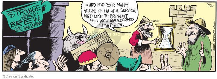 Comic Strip John Deering  Strange Brew 2012-05-20 your