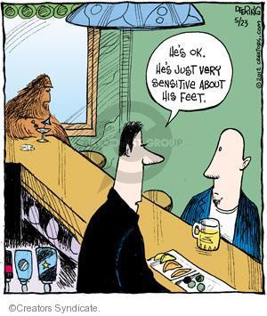 Comic Strip John Deering  Strange Brew 2012-05-23 sensitivity
