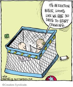 Comic Strip John Deering  Strange Brew 2012-05-26 crawl