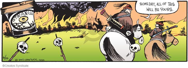 Comic Strip John Deering  Strange Brew 2012-06-10 attack