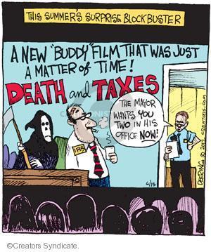 Comic Strip John Deering  Strange Brew 2012-06-15 mayor