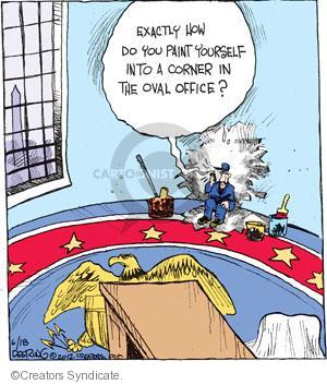 Comic Strip John Deering  Strange Brew 2012-06-18 presidential