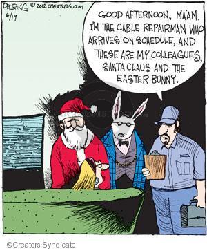 Cartoonist John Deering  Strange Brew 2012-06-19 television cartoon