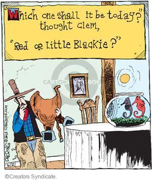 Comic Strip John Deering  Strange Brew 2012-06-21 red