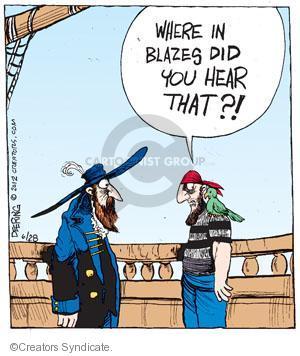 Comic Strip John Deering  Strange Brew 2012-06-28 curse